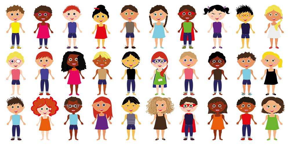 18. Niños personalizados