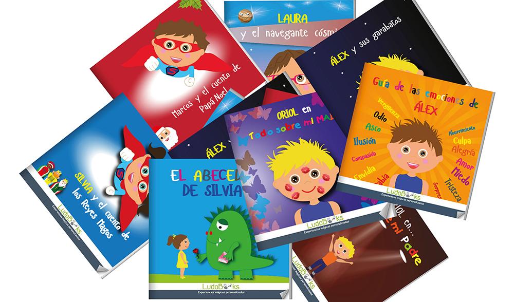 regalos personalizados - variedad de cuentos y temáticas