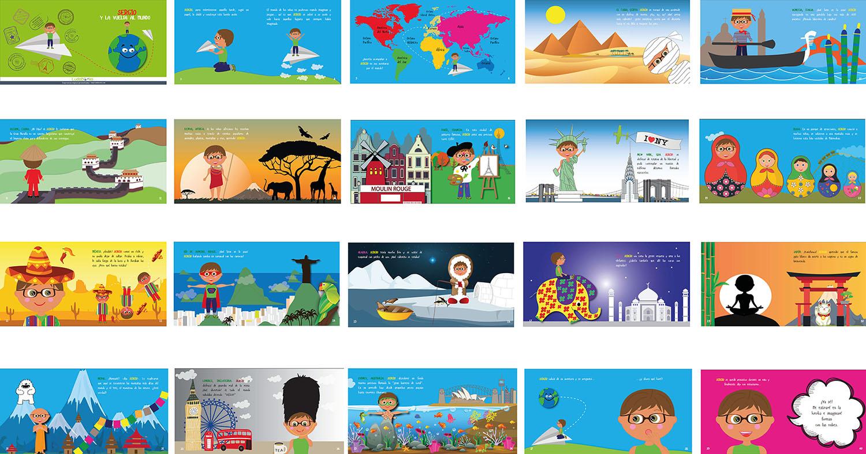 cuentos en gallego - La vuelta al mundo