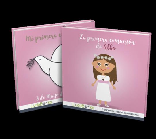 Libro personalizado de comunión