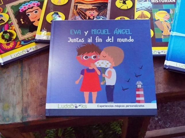 Libros personalizados para enamorados