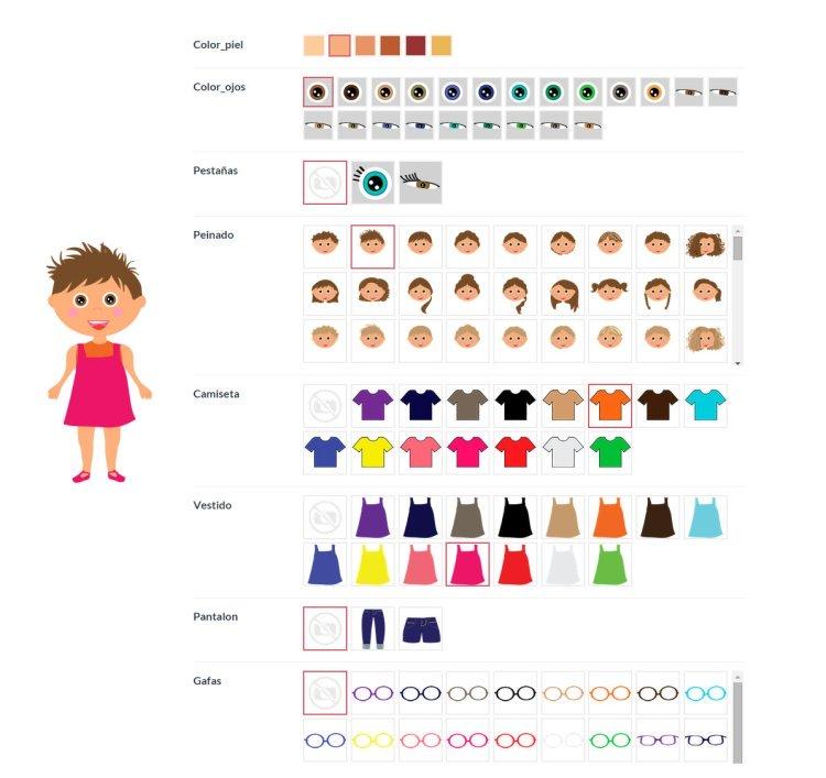 cuentos personalizados sin estereotipos - configurador