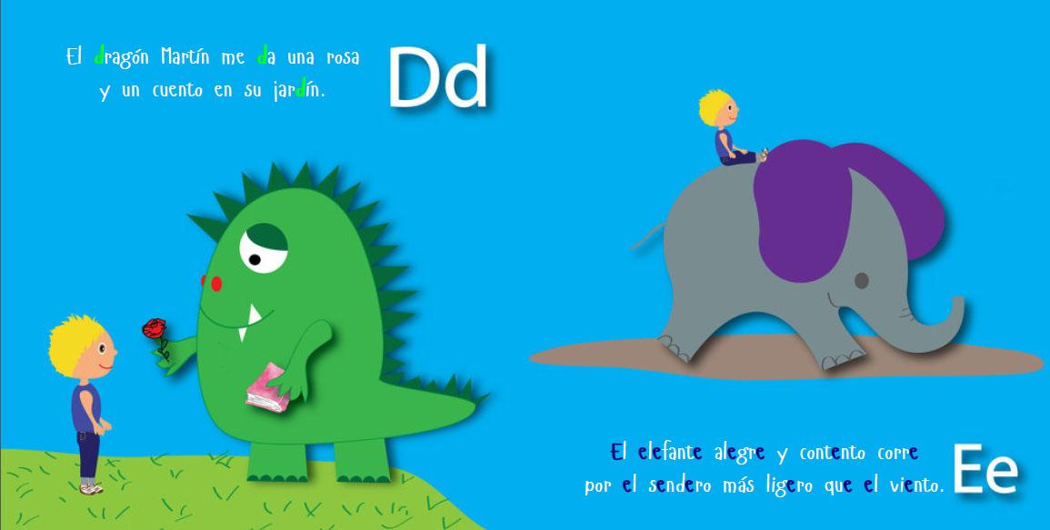 Libros personalizados para Sant Jordi - El abecedario personalizado