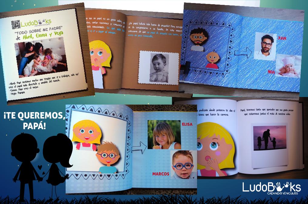 Libros personalizados con fotografías añadidas