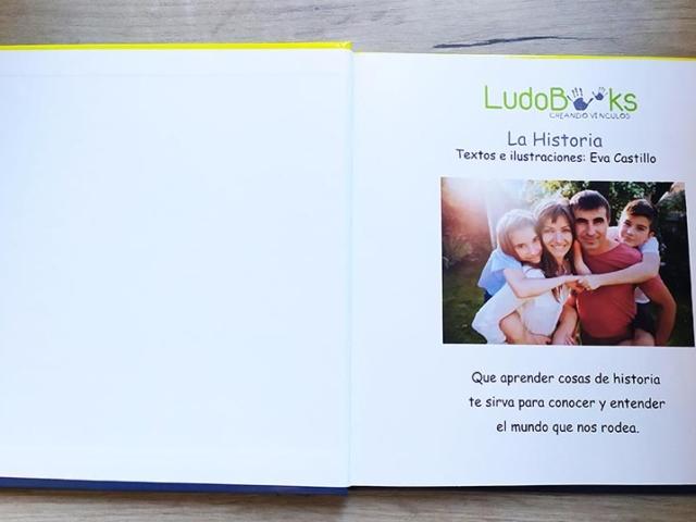 Libro personalizado de la Historia - Foto y dedicatoria (opcional)