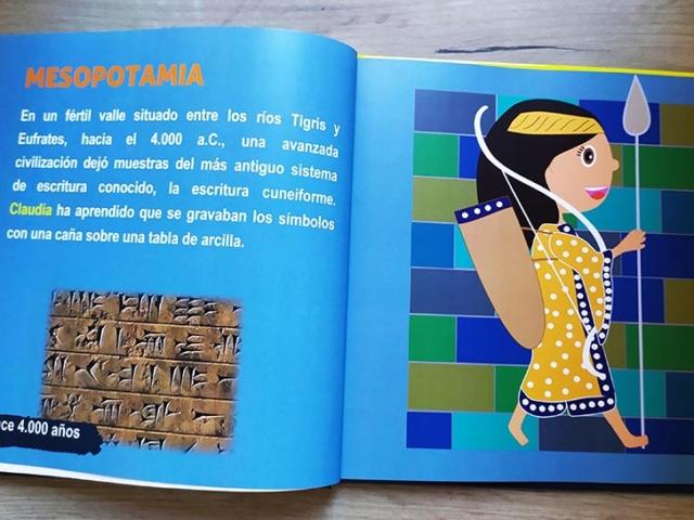Libro personalizado de la Historia - El friso de los arqueros (Mesopotamia)