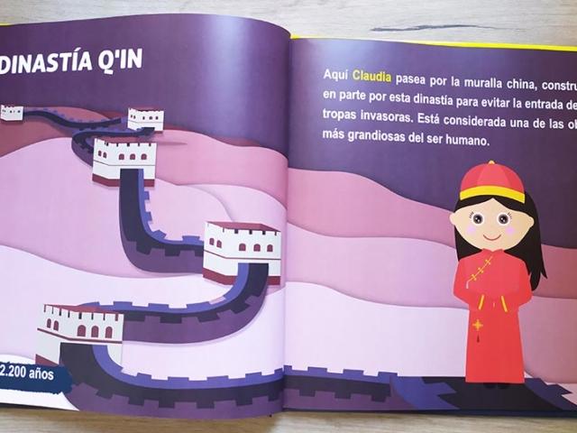 Libro personalizado de la Historia - Muralla (China)