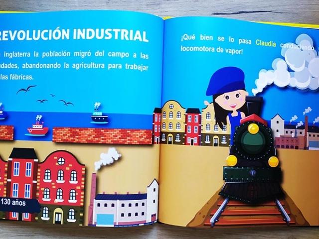 Libro personalizado de la Historia - Revolución industrial (Reino Unido)