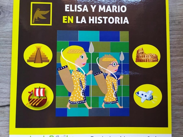 Libro personalizado de la Historia con 2 personajes
