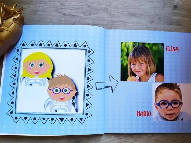 Libro personalizado de la Historia - Fotos de los protagonistas opcionales