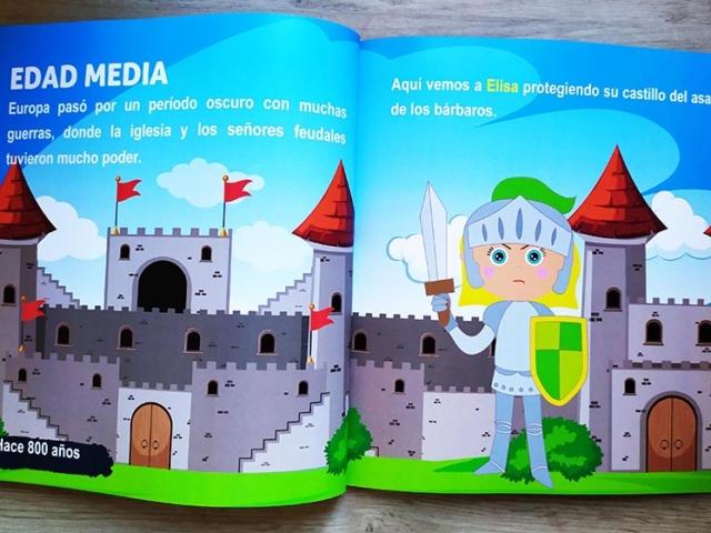 Libro personalizado de la Historia - Edad Media