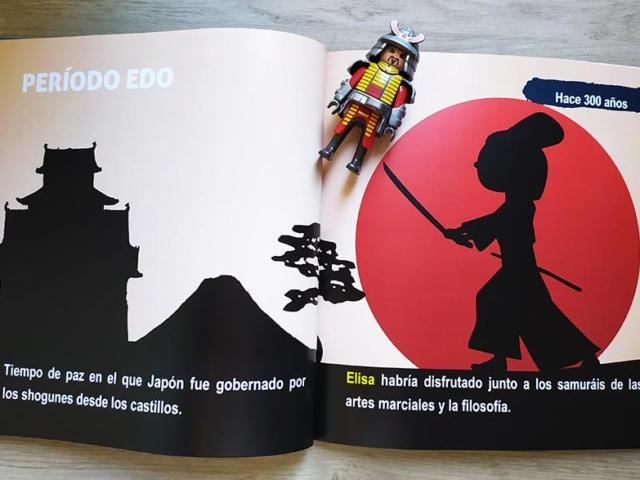 Libro personalizado de la Historia - Japón
