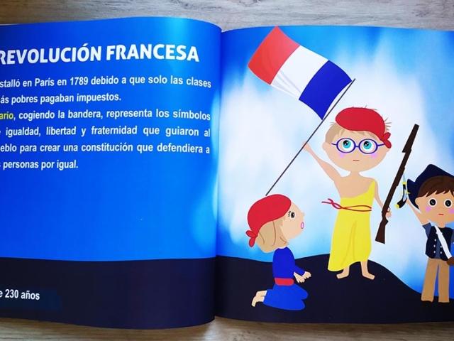Libro personalizado de la Historia - Revolución francesa