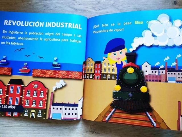 Libro personalizado de la Historia - La revolución industrial