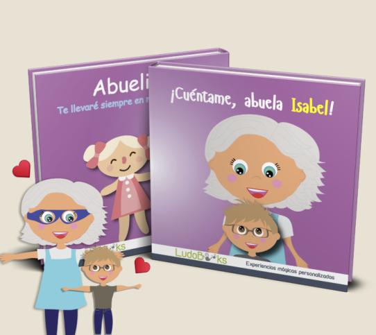 Libro personalizado para la abuela