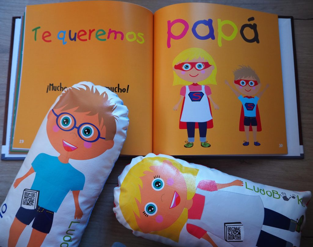 libro personalizado para papá