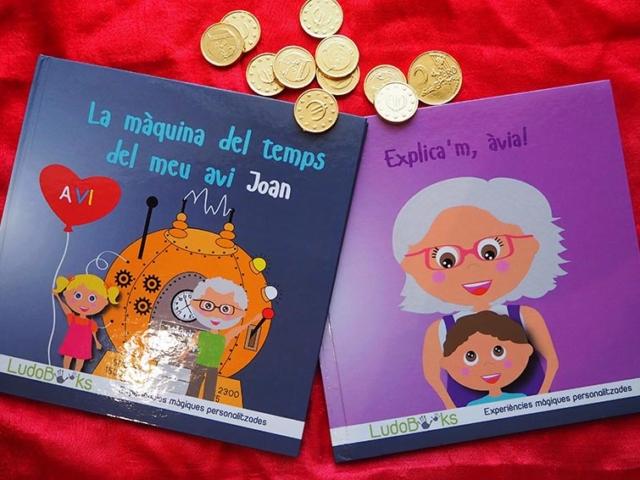 Libro personalizado para abuelos y abuelas