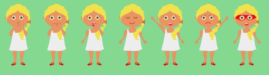 avatares emociones
