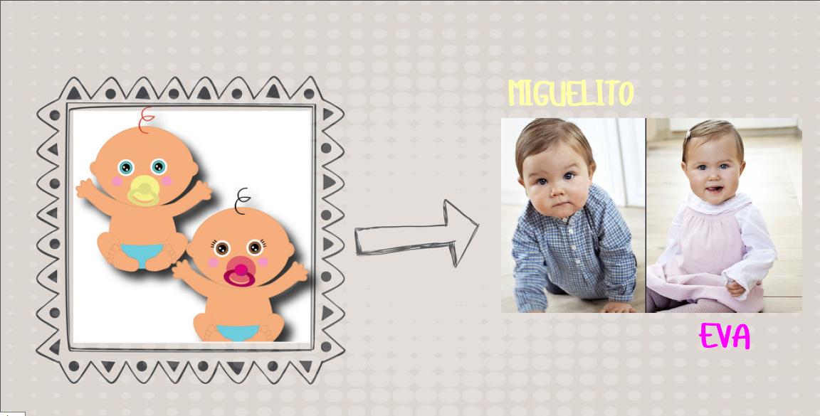 Regalos personalizados para gemelos o mellizos