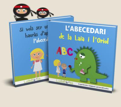 Llibre personalitzat de l'abecedari