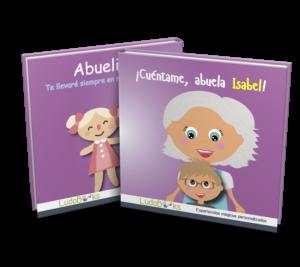 Libro personalizado para la abuelita