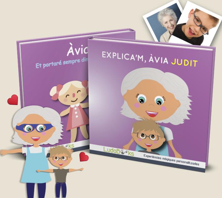 Llibre personalitzat per l'àvia