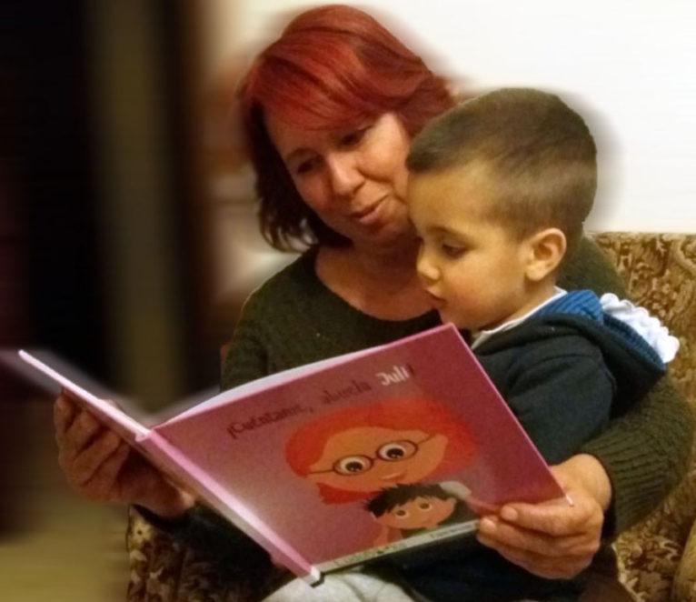 Libro personalizado para abuelas