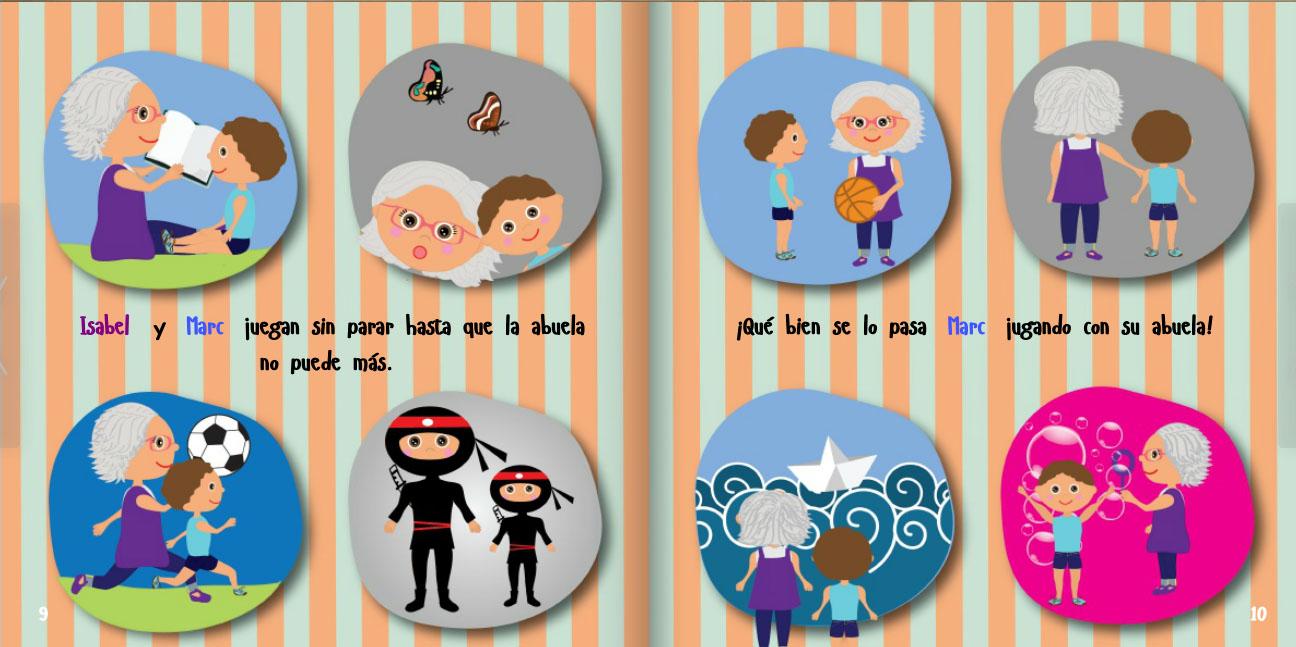 Libros personalizados para el día del libro - Cuéntame, abuela.