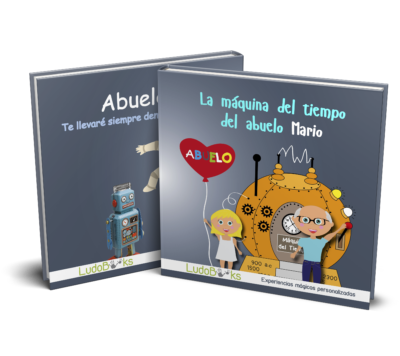 Libro personalizado para el abuelito