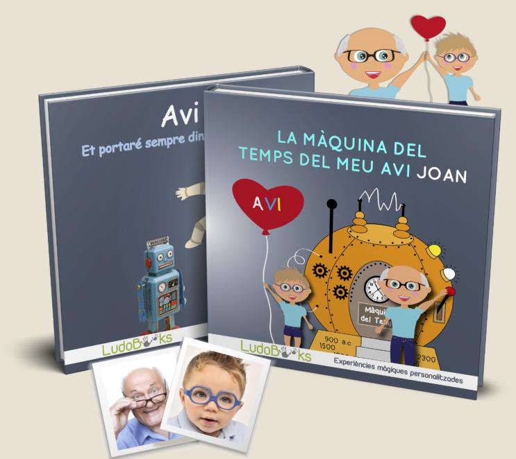Llibre personalitzat per l'avi