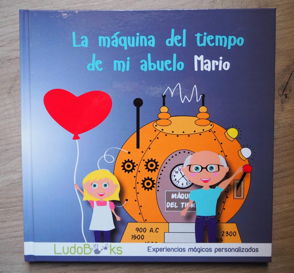 Libro personalizado para abuelos