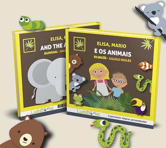 Libro personalizado de animales