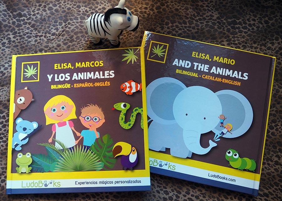 animales - Libros personalizados de aventuras