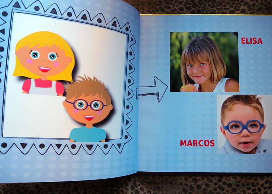 cuentos personalizados con dos niños juntos