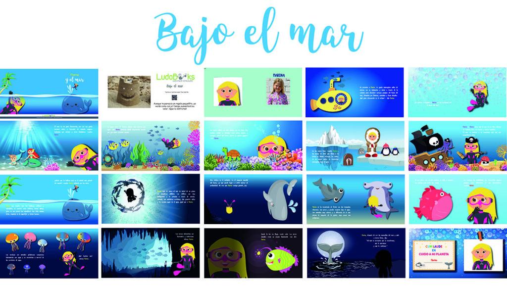 Libros personalizados de aventuras - Bajo el mar