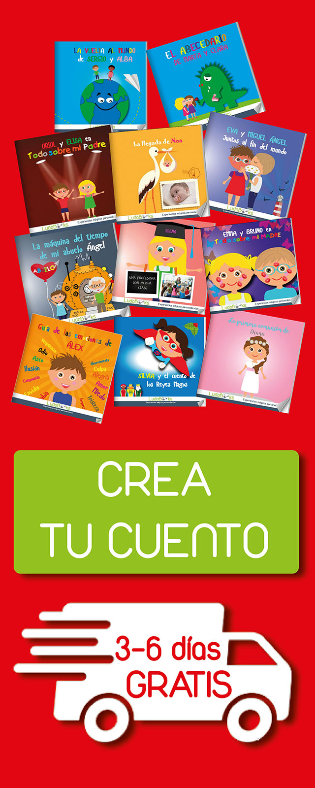 banner lateral mini - LudoBooks | Personalized books and stories for children