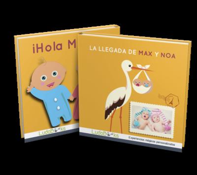 Libro personalizado de bebés