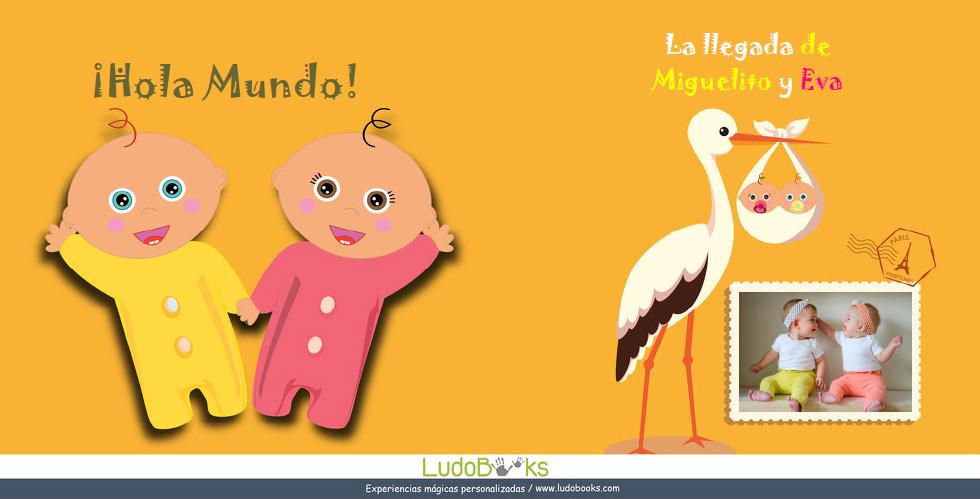 libros personalizados de bebes