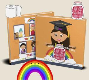 Petons i abraçades, llibre personalitzat per professores
