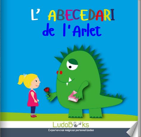ca portada abecedario - Contes personalitzats per nens en català
