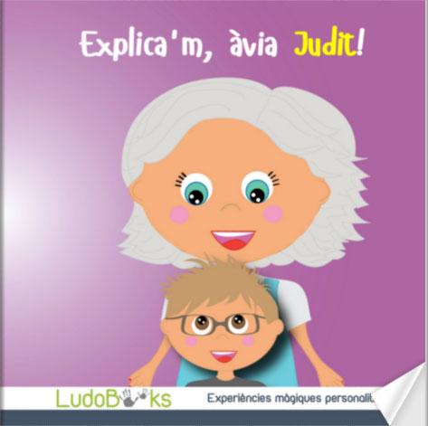 ca portada abuela - Contes personalitzats per nens en català