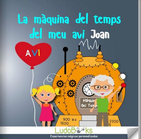 ca portada abuelo - Contes personalitzats per nens en català