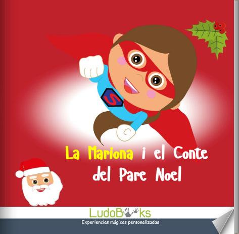 ca portada papanoel - Contes personalitzats per nens en català