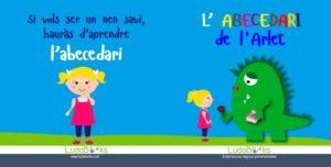 Divertit conte personalitzat de l'abececdari per nens