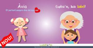Conte personalitzat per àvies i néts - Explica'm àvia
