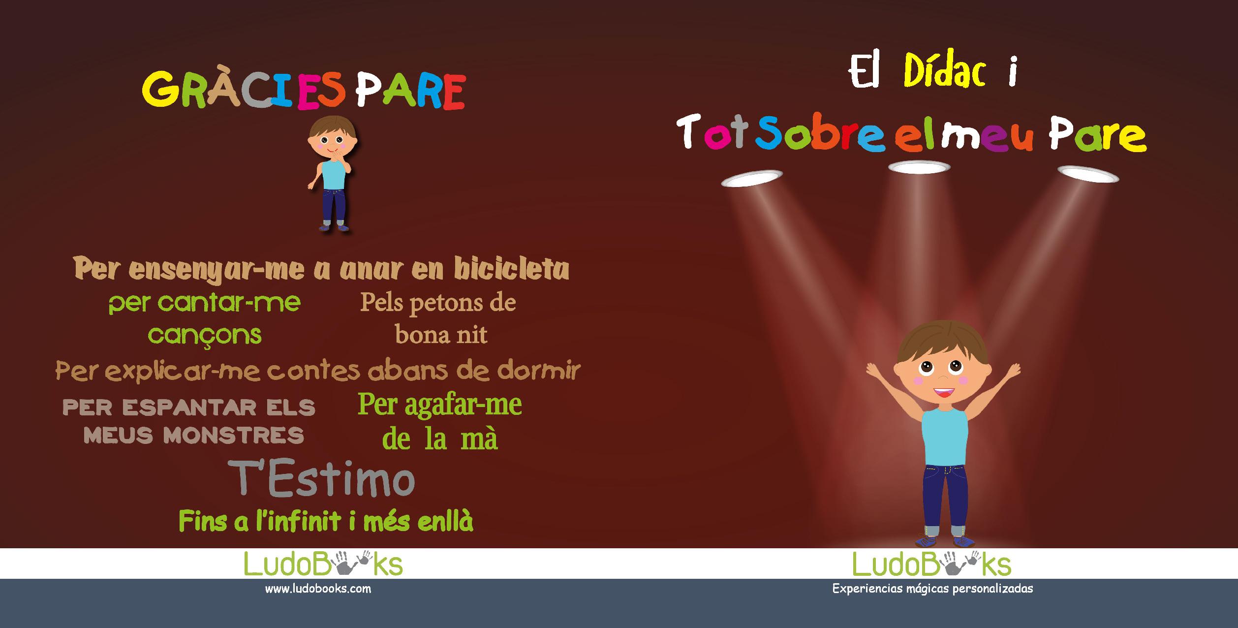 conte personalitzat pel dia del pare en català