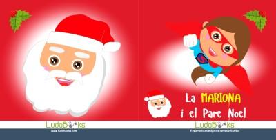 Conte personalitzat per nens amb el Pare Noel