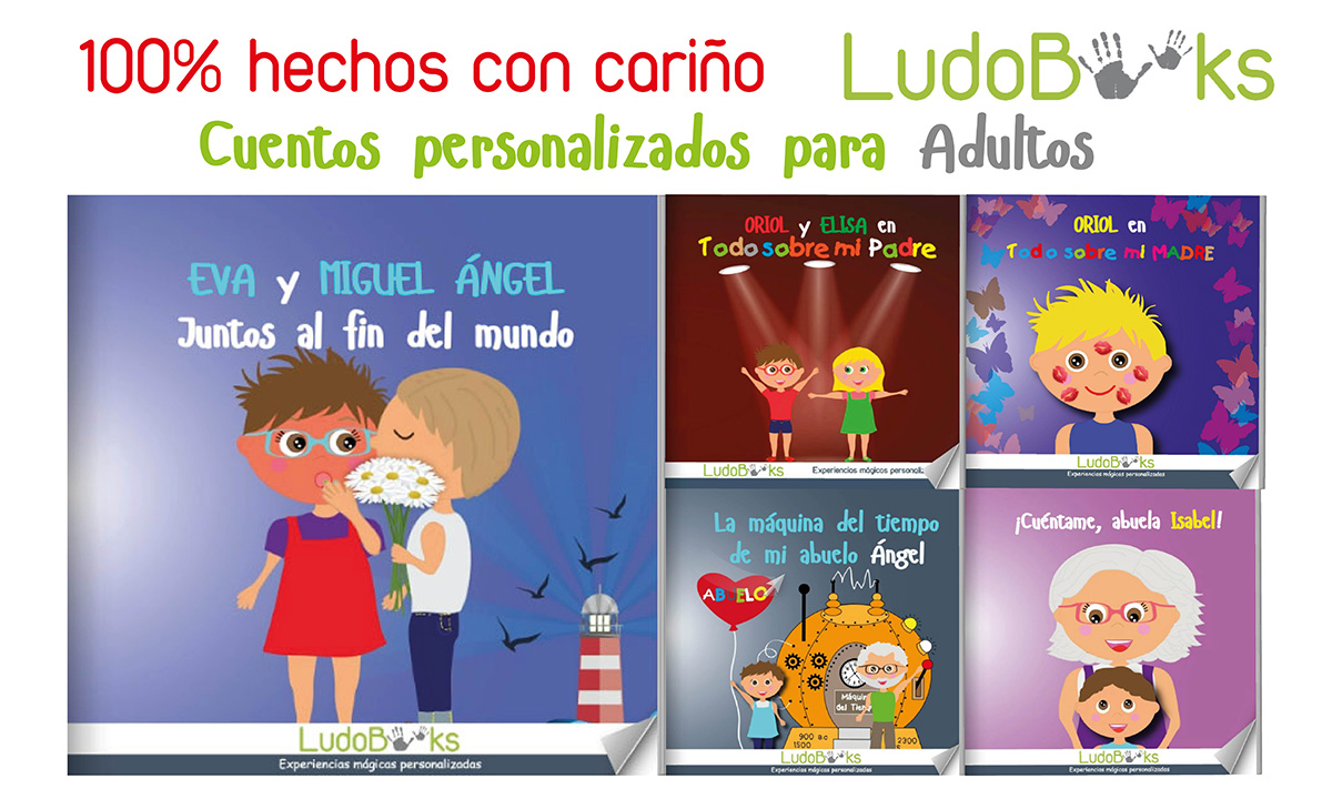 catalogo adultos reducido - Libros personalizados de amor