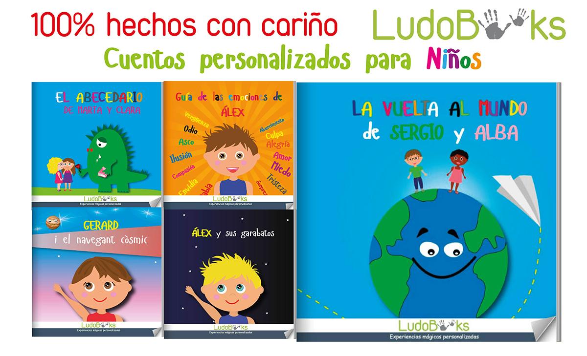 Libros y cuentos personalizados para niños para regalar el día del libro