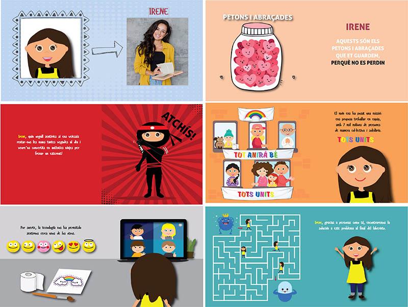 Llibre personalitzat per a mestres en temps de coronavirus